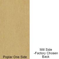 3/4 4 X 8 VC POPLAR / MILL SHOP