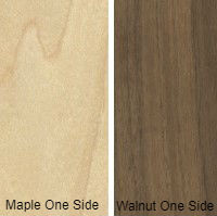 3/4 4 X 8 VC WALNUT / MAPLE SHOP