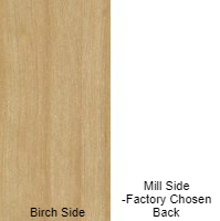 1/2 4 X 8 VC BIRCH / BIRCH SHOP PAINT GRADE
