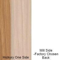 1/4 4 X 8 VC HICKORY / MILL SHOP