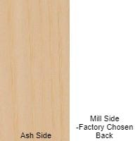 1/4 4x8 MDF  ASH / MILL SHOP