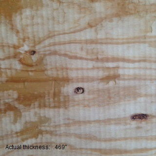 1/2 4 x 8 cdx  reject plywood