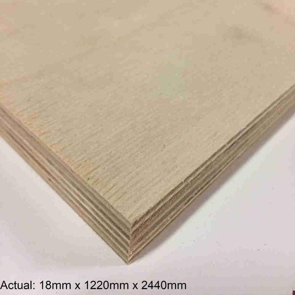 1 in 4 x 8  Baltic Birch(17-Ply) BB/BB Plywood