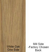 1/4 4 x 8 VC WHITE_OAK / MILL SHOP QTR SAWN