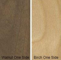 3/4 5 X 8 VC WALNUT / BIRCH SHOP Unsanded Birch