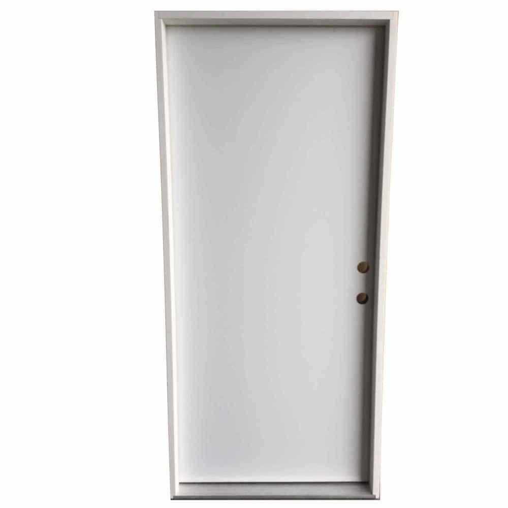 3-0 X 6-8  FLUSH STEEL S&D LH DOOR