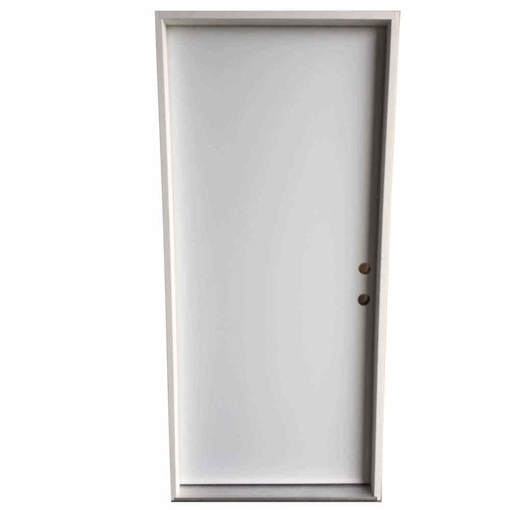 3-0 X 6-8  FLUSH STEEL S&D LH DOOR