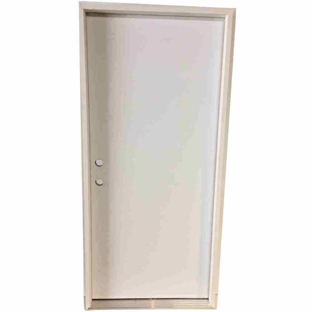 3-0 X 6-8  FLUSH STEEL S&D RH DOOR