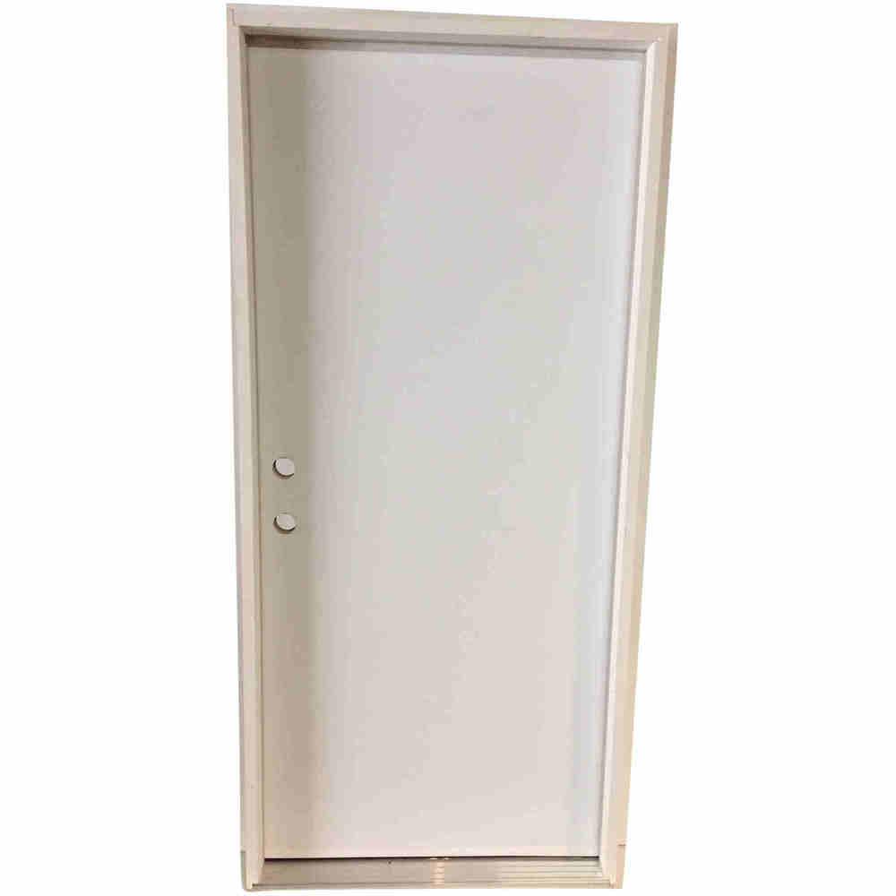 3-0 X 6-8  FLUSH STEEL S&D RH DOOR