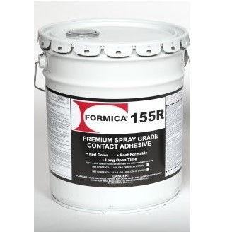 5 gallon 155R contact cement Red Spray Grade