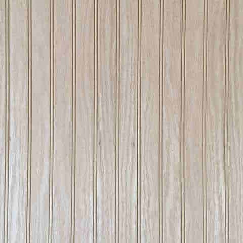 3/16 48 x 97 mdf unfinished 1.5 in. Beaded Oak paneling