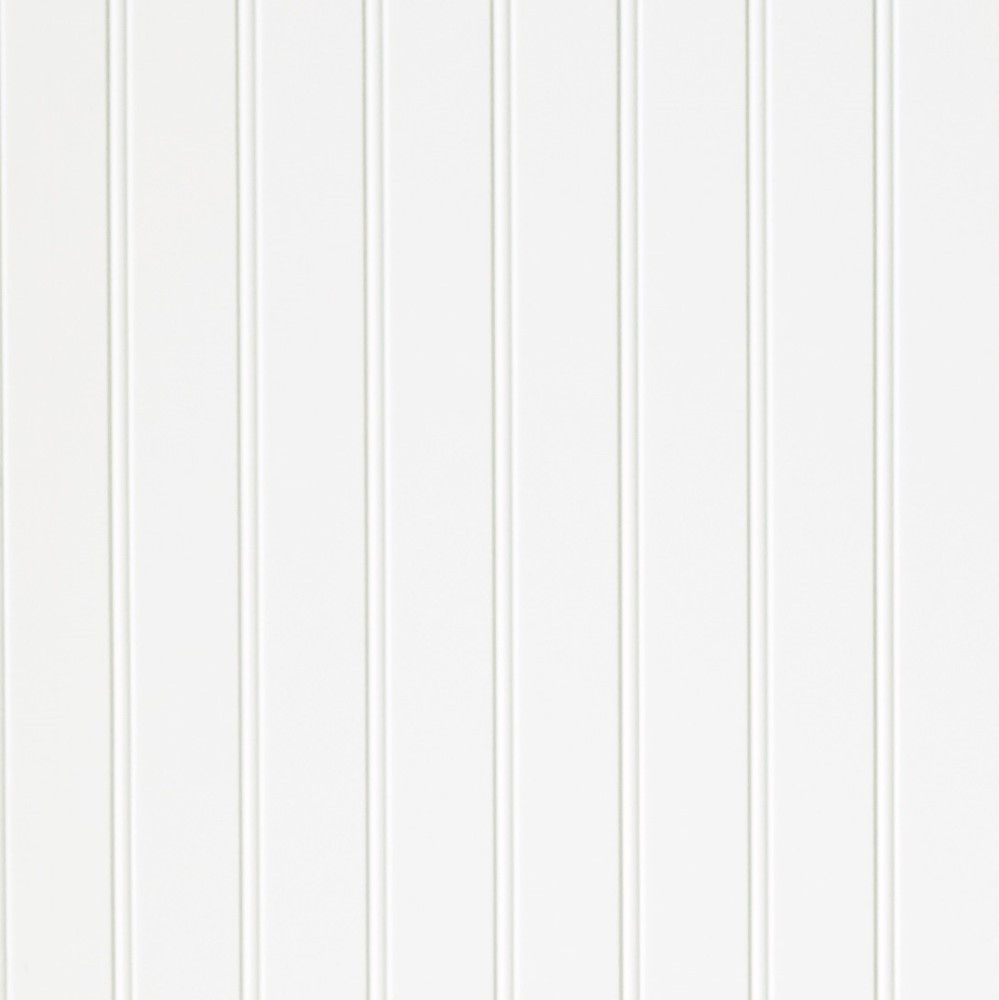 3/16 4 x 8 hardboard Paintable 2 in. Beaded White paneling (139)