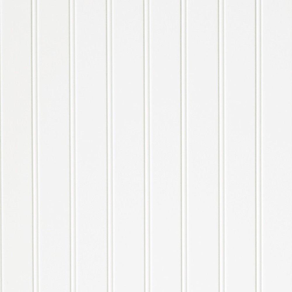 3/16 4 x 8 hardboard Paintable 2 in. Beaded White paneling (139)