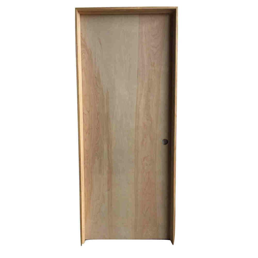 1 3/8 2-4 X 6-8 HC BIRCH 4 9/16 JAMB LH DOOR